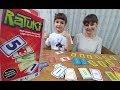 RATUKİ AKIL OYUNU OYNMAYA ÇALIŞTIK.Eğlenceli Çocuk Videosu, Zeka oyunları Eğitici