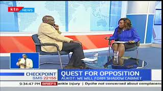 Checkpoint: Quest for Opposition- Interview part one