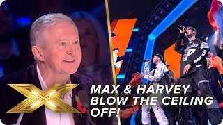 Max & Harvey Blow The Ceiling Off With Macklemore Hit! | Live Week 3 | X Factor: Celebrity