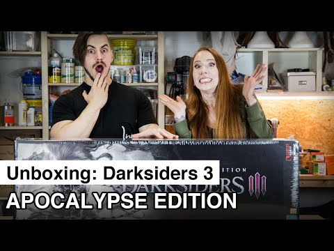 Unboxing Darksiders 3 Apocalypse Edition