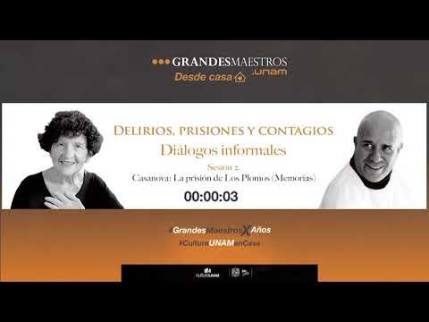 Sesión 2/4: 'Giacomo Casanova. Diálogos informales con Margo Glantz y Mario Bellatín'
