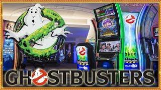 GHOSTBUSTERS 4D and Gremlins Slots in LAS VEGAS!