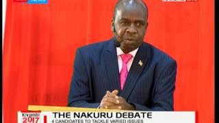 Former NACADA Chairman Joseph Mututho shares his dream for the County of Nakuru: Kivumbi 2017