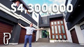 Spectacular $4.3 Million Dollar Modern Mansion Tour!