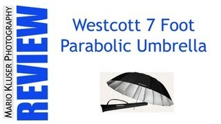 (Not So) Quick Review Of The Westcott 7 Foot Parabolic Umbrella