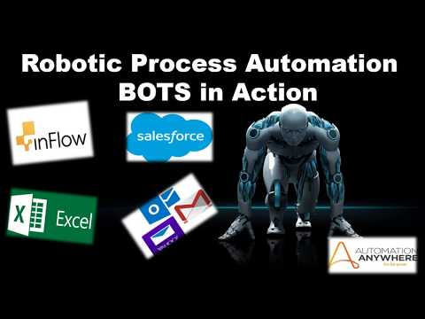 Robotic Process Automation - BOTs In Action | #RPALive Project