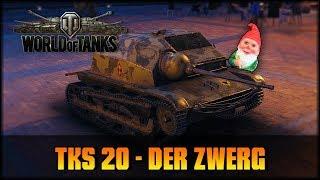 World of Tanks - Live: TKS 20 - der polnische Zwerg [ deutsch 🐄 gameplay ]