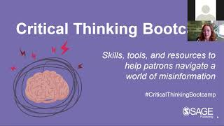 Critical Thinking Bootcamp
