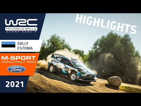 WRC3 2021 第7戦ラリー・エストニア ハイライト動画