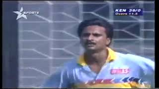 India VS Kenya - Cricket World Cup 1996 Group Match Highlights (@Cuttack)