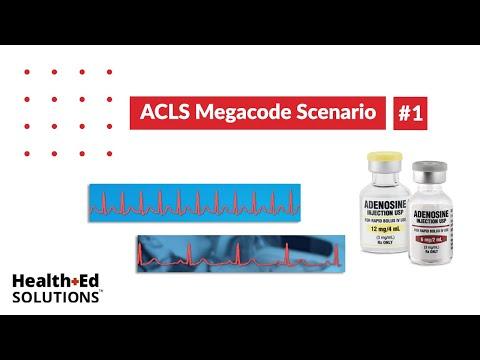 ACLS Megacode Scenario 1: Supraventricular Tachycardia (SVT ...