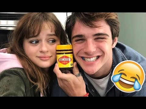Joey King & Jacob Elordi (The Kissing Booth Cast) - Funny Moments (Best 2018★)