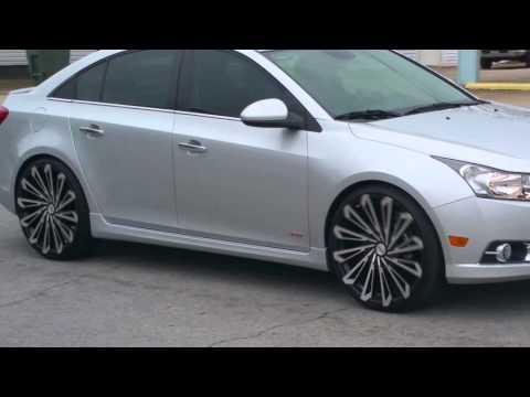 Chevrolet Cruze on 22 inch Starr wheels 469 SKS