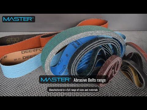 Master Abrasive Belts range