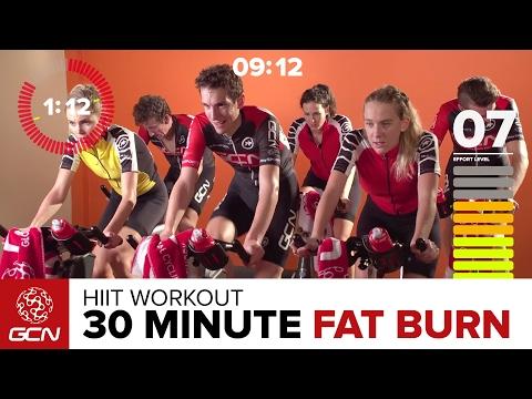 30 minutter høy intensitet sykkel