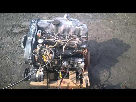 Запуск двигателя D4BA