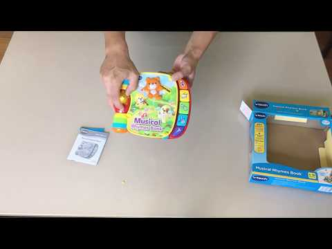 VTech Musical Rhymes Book Unboxing