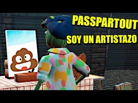 PASSPARTOUT #1 - PINTANDO MIERDAS Y FLAT ERICS
