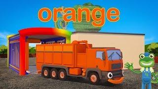 Learn Colors with Trucks | Gecko's Big Truck Hide and Seek | Gecko's Garage