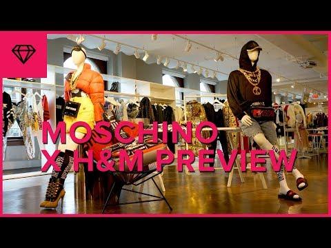 MOSCHINO [TV] H&M Collection Preview | nitro:licious видео