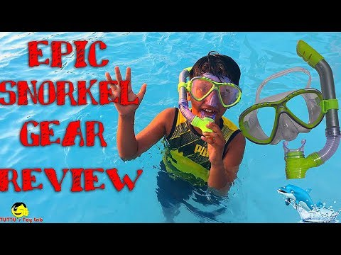 SWIM MASK AND SNORKEL REVIEW ||NEW||