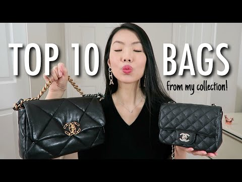 Download MY TOP 10 HANDBAGS OF 2020! | FashionablyAMY Mp4 HD Video and MP3