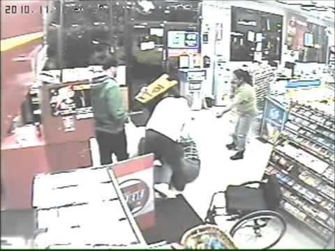 Man In Wheelchair Stops Robbery