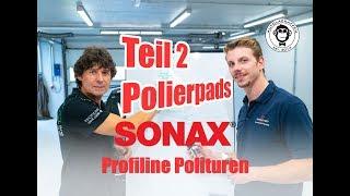 Sonax ProfiLine Polierschwämme | Richard Hanauer | Lvl 3 - für Profis | AUTOLACKAFFEN