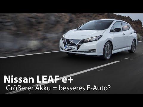 Nissan LEAF e+ (62 kWh) Test / Vor- und Nachteile des größeren Akku [4K] - Autophorie