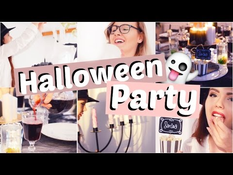 HALLOWEEN Party HACKS - Deko & Food | Tumblr Inspired | ViktoriaSarina