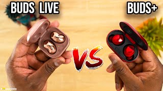 Samsung Galaxy Buds Live vs Samsung Galaxy Buds Plus!
