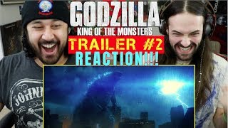 GODZILLA: KING OF THE MONSTERS - Official TRAILER #2 REACTION!!!