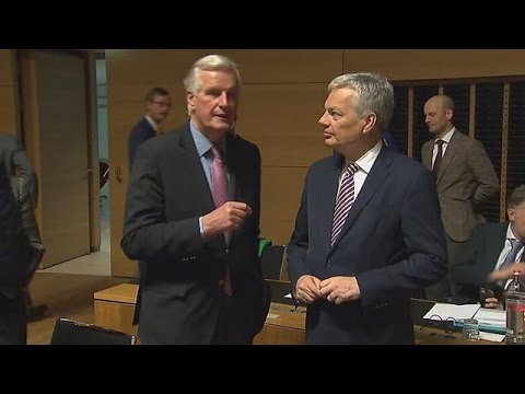 EU officials stand firm ahead of Brexit meeting