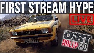 My First Stream In DiRT Rally 2.0!!! | Trying Out Career Mode