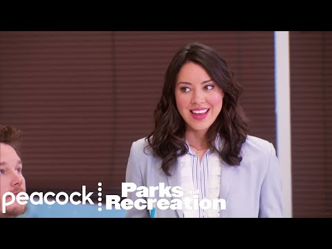 April Becomes Leslie Knope - Parks and Recreation