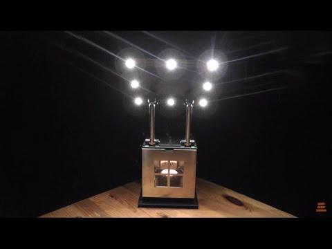 JOI Lampe - Strom unabhängiges Licht für Krisenvorsorge sowie für Grillpartys