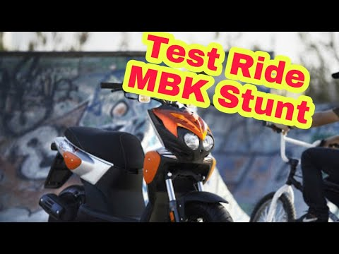 Test Ride : MBK Stunt