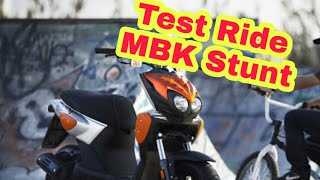 Test Ride : MBK Stunt