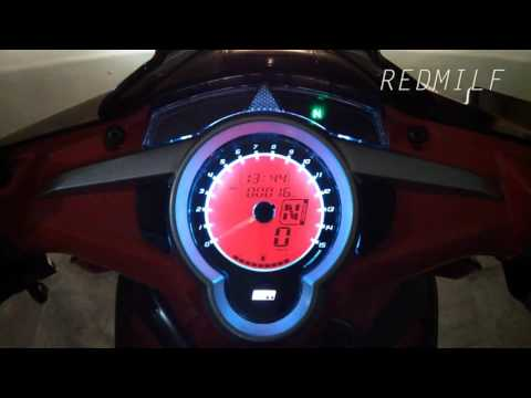 Video UMA RACING DIGITAL SPEEDOMETER Yamaha New Jupiter MX 135/LC 135/Exciter 135