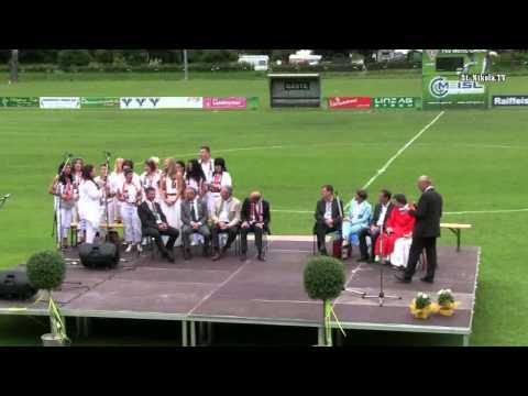 Eroeffnung Sportanlage TSV Meisl Grein 29 06 2014 Festakt