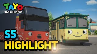 Tayo S5 EP18 The new tour bus, Lolly l Tayo S5 Episode Highlight l Tayo the Little Bus