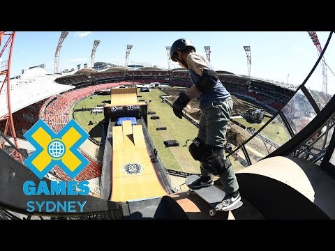FULL SHOW: Skateboard Big Air Qualifier at X Games Sydney 2018