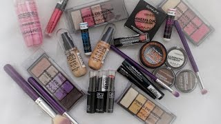 Haul de Maquillaje Economico (Samy Cosmetics) | Karomakeup|