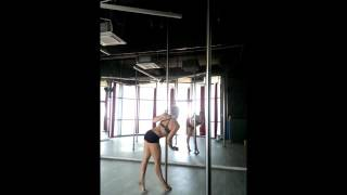 Pink Panther Pole Dance