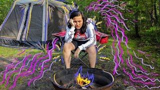 Elle Mills Goes Camping