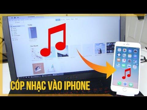 Copy nhạc máy tính vào iPhone không cần qua iTunes