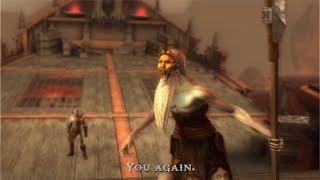 God of War - Kratos vs Charon Boss & Kratos Finds His Daughter