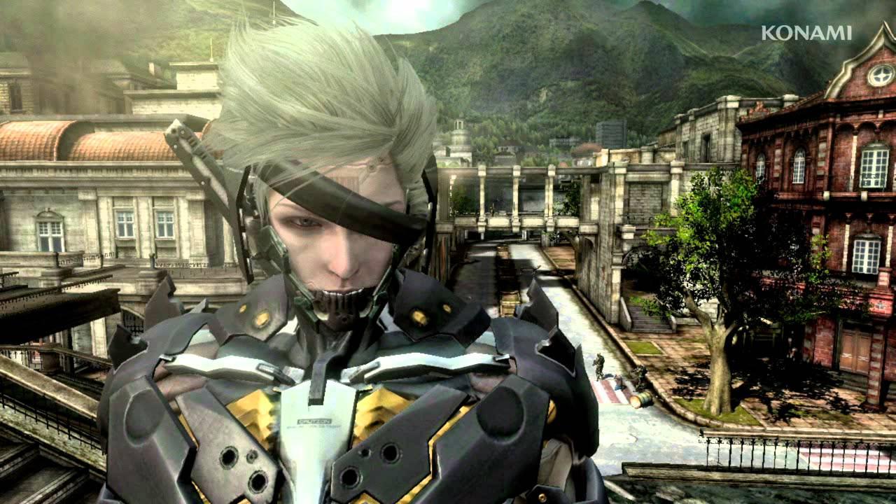 Raiden's Suit In Metal Gear Rising: Revengeance Is Bloody Amazing