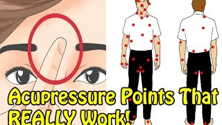 10 IMPORTANT Pressure Points That Actually HEALS Your Body & Mind