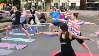 Video of Summer Stretch in the City in Garema Place